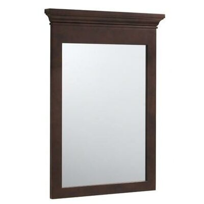 "Ronbow Transitional Style 24"" x 33"" Wood Framed Mirror"