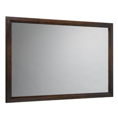 "Ronbow Newcastle 60"" x 39"" Wood Framed Mirror"