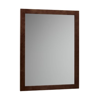 "Ronbow 24"" x 32"" Wood Frame Mirror"