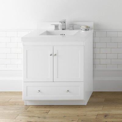 modular shaker 31 single bathroom vanity set reviews wayfair