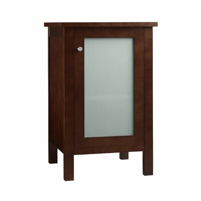 Side Cabinet with Glass Door