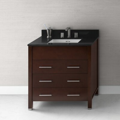 "Ronbow Kali 32"" Wood Undermount Vanity Set"