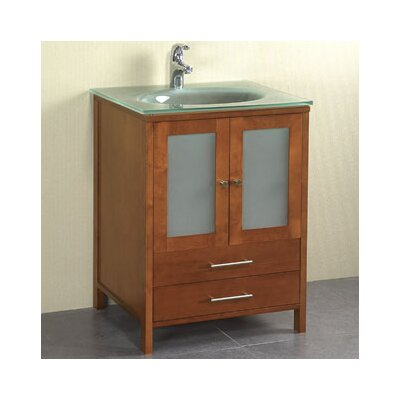 25 inch solid wood vanity wayfair