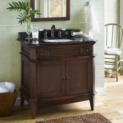 "Ronbow Solerno 36"" Wood Vanity Set"