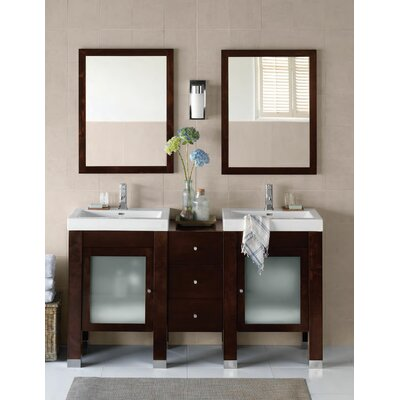 "Ronbow Contempo 60"" Devon Bathroom Vanity Set"