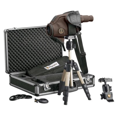 Golden Ring Spotting Scope 12-40x60mm HD Kit in Brown