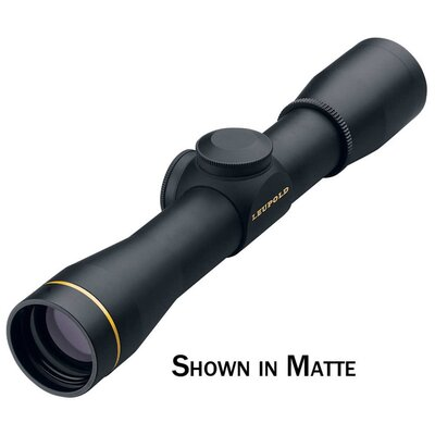 FX II Handgun Scope 4x28mm Duplex Reticle in Gloss Black