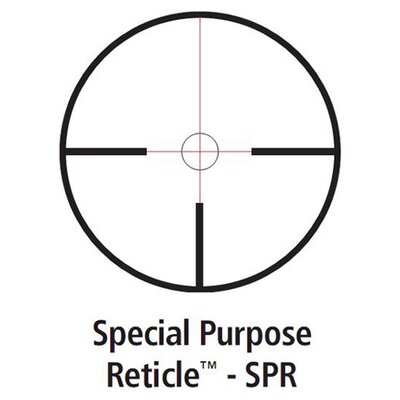 Leupold Mark 4 Rifle Scope 1.5-5x20mm Special Purpose Reticle in Matte black