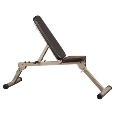 Best Fitness Folding Adjustable Utility Bench
