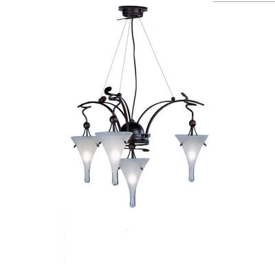 Lamp International Goccia Four Light Chandelier