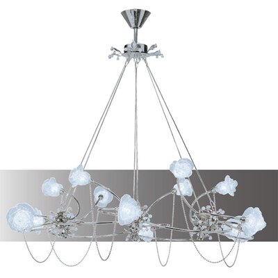 Lamp International Rosa Twelve Light Chandelier