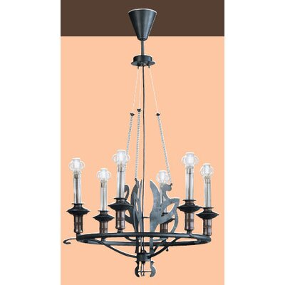 Lamp International Firenze Six Light Chandelier