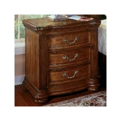 Wynwood Furniture Cordoba 3 Drawer Nightstand