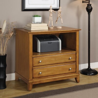 Wynwood Furniture Gordon File Cabinet in Light Nutmeg