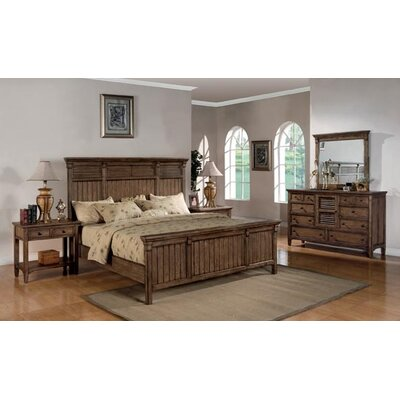 Wynwood Furniture Newberry Panel Bed