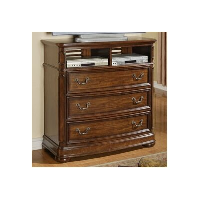 Wynwood Furniture Avonlea 3 Drawer Media Chest