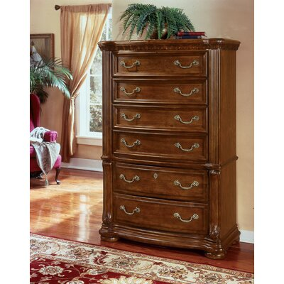 Wynwood Furniture Cordoba 6 Drawer Chest