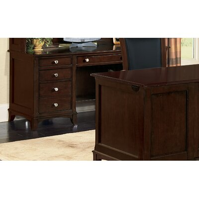 Kennett Square Computer Credenza in Dark Chocolate