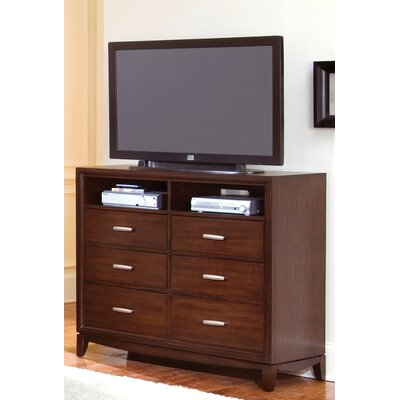 Wynwood Furniture Henley 6 Drawer Media Chest