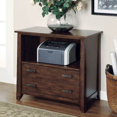 Wynwood Furniture SBH Distressed Printer Cabinet