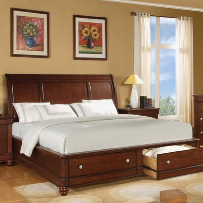 Wynwood Furniture Olmsted Sleigh Bedroom Collection