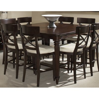 Wynwood Furniture Tuxedo Park Height Dining Table and Sideboard