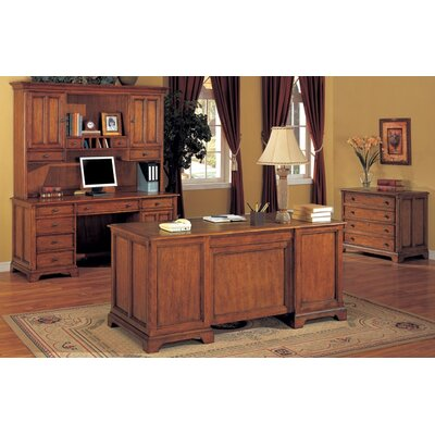 Wynwood Furniture Halton Hills Standard Desk Office Suite
