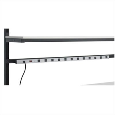 "Kendall Howard Lan Station 48"" Power Strip"