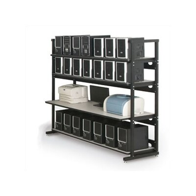 "Kendall Howard 4 Post LAN Rack Bundle - 72"" W"