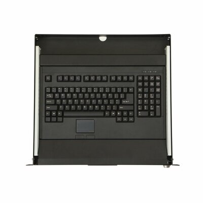 1U Rackmount 2-Post Keyboard Tray