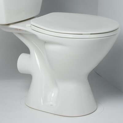 Saniflo Round Front 1.6 GPF Elongated Toilet Bowl Only