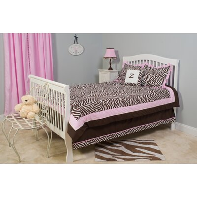 Pam Grace Creations Zara Zebra Full / Queen Bedding