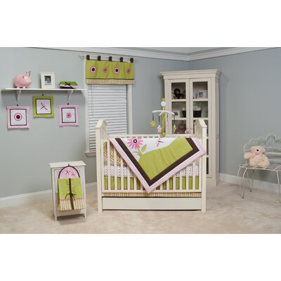 Pam Grace Creations Sophia's Garden 10 Piece Crib Set