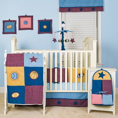Pam Grace Creations Let's Play Ball Crib Bedding Collection