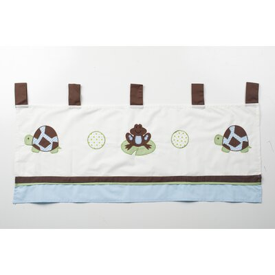 Pam Grace Creations Mr. and Mrs. Pond Cotton Curtain Valance