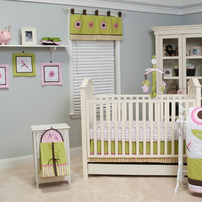 Sophia's Garden 10 Piece Crib Bedding Set