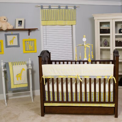 Argyle 10 Piece Crib Bedding Set