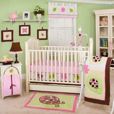 Ladybug Lucy 10 Piece Crib Bedding Set