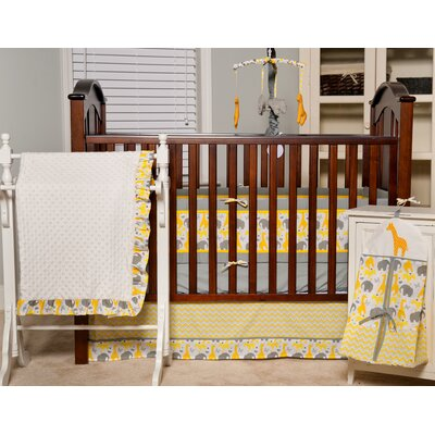 ZigZag Giraffe Crib Bedding Collection