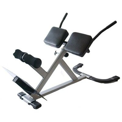 Xodus Adjustable 45 Degree Hyperextension Bench