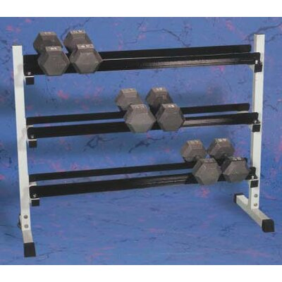 Yukon Fitness Hex Dumbbell Set with Rack