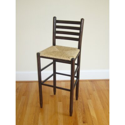 "Dixie Seating Company Carolina Ladder Back 30"" Barstool"