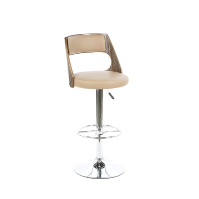 Leick Furniture Favorite Finds Adjustable Swivel Bar Stool with Cushion