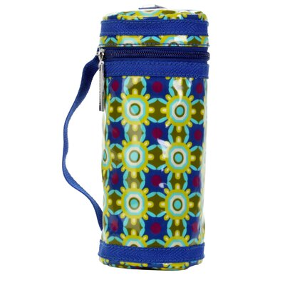 Hadaki Bottle Sleeve in Cobalt Stars