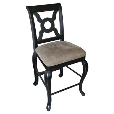 Carolina Accents English Bar Stool with Cushion