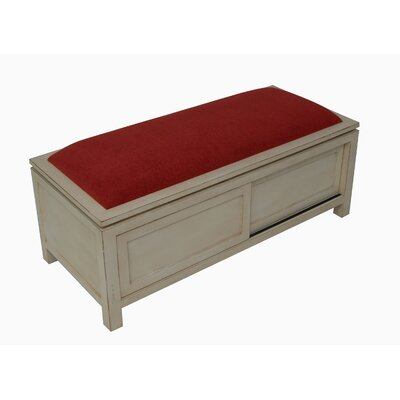 Carolina Accents Shipley Wooden Storage Bench
