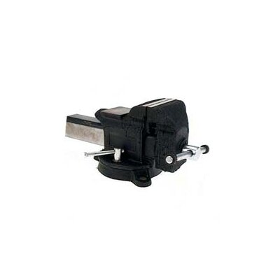 "Adjustable Clamp 4"" Heavy-Duty Steel Bench Vise  30404"