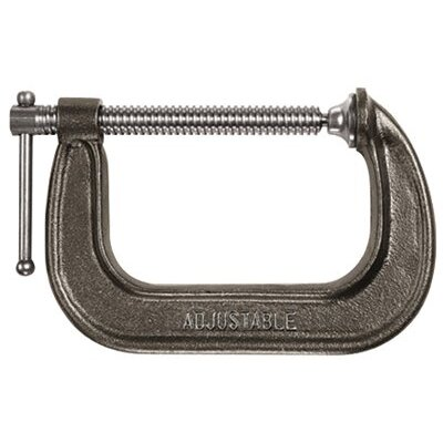 "Adjustable Clamp Style No. 1400 C-Clamps - 14400 4"" adjustable c-clamp"