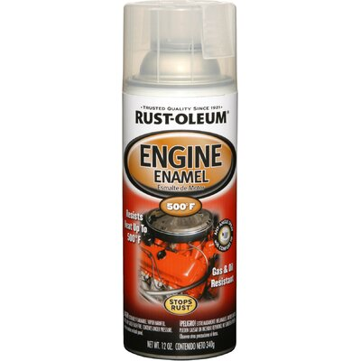 RustoleumAutomotive 11 Oz Clear Engine Enamel Spray Paint 248944