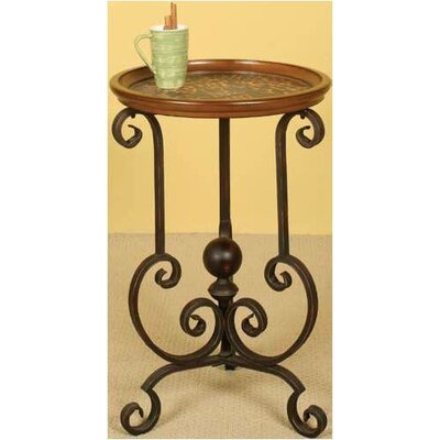 Leopard Spot End Table